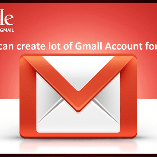 Gmail account for sales