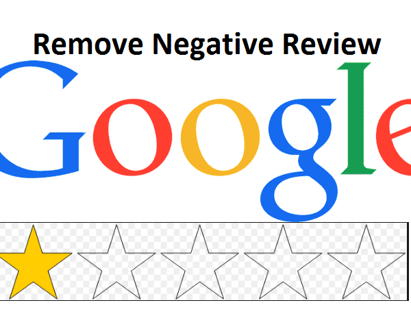Googe Bad review remove