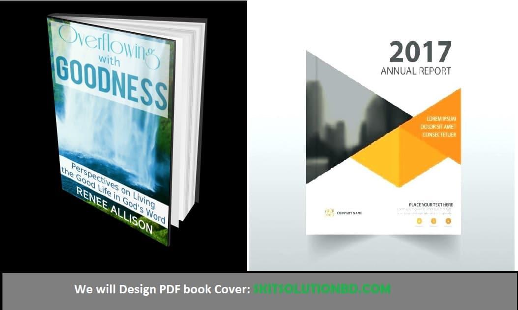 Design PDF book Cover