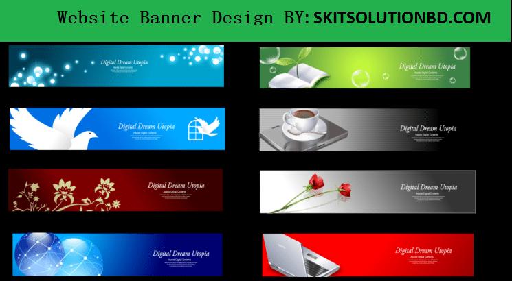 website banner design service