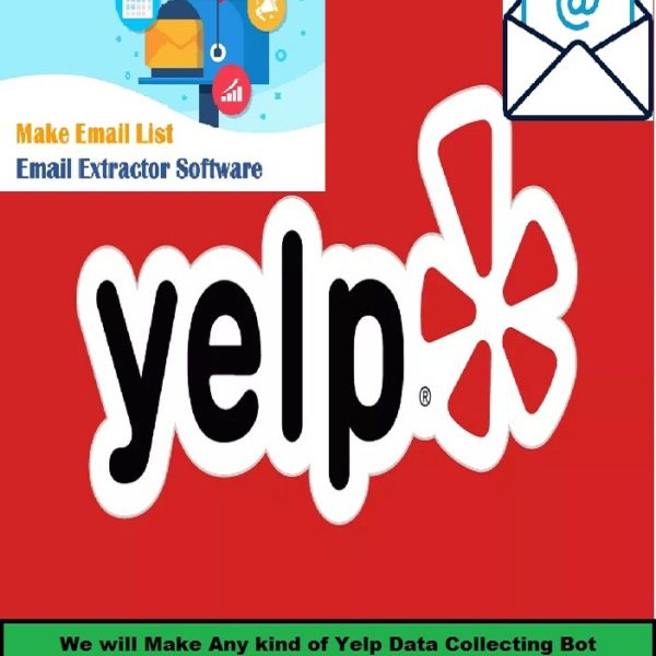 yelp email Scraping bot