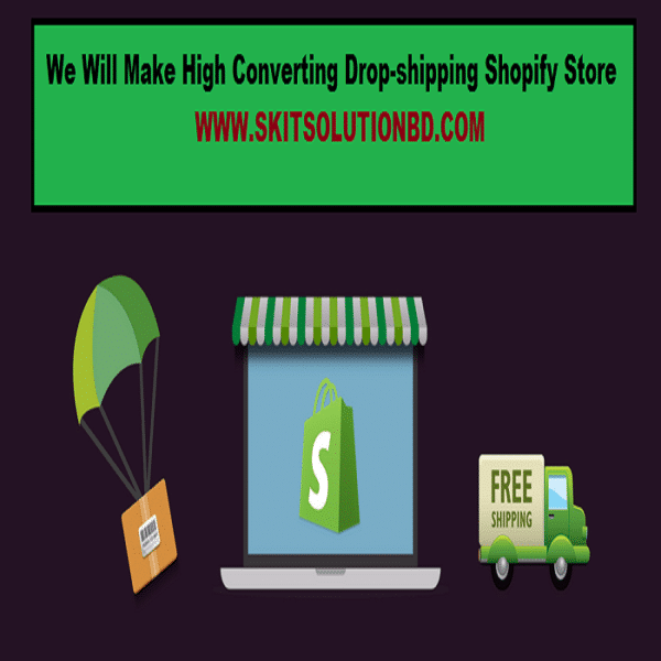 Drop-shipping Shopify Store