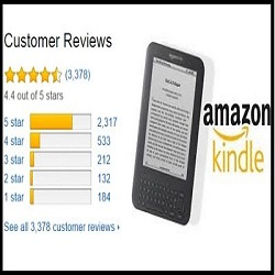 Amazon Kindle Book Verified Reviews