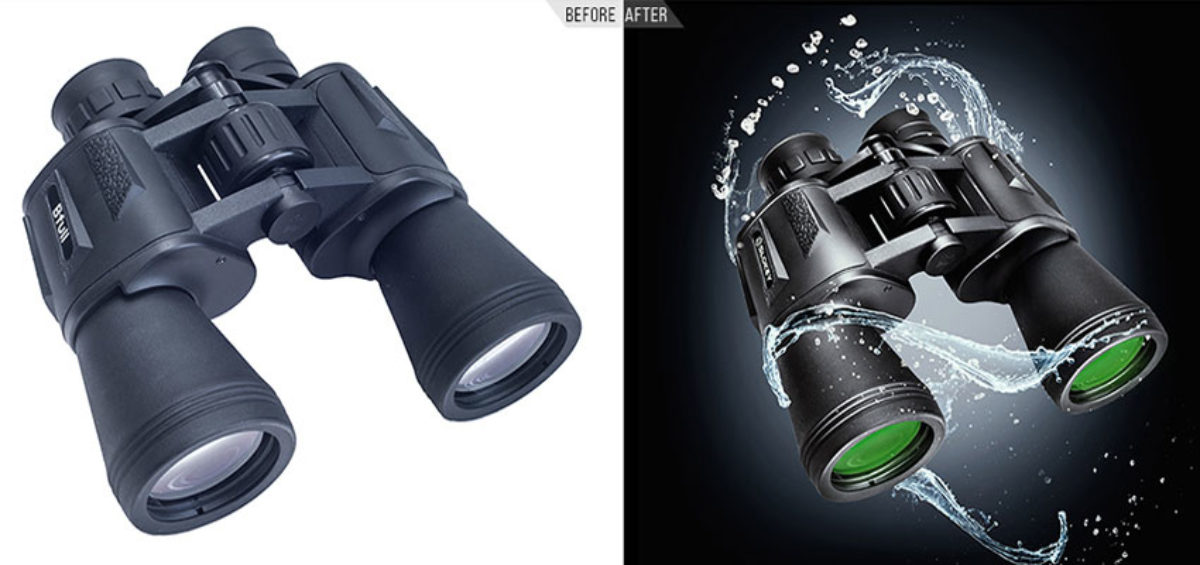 Binoculars Photo Manipulation Services