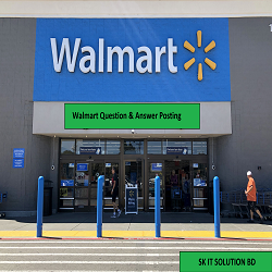 Walmart Question & Answer Posting