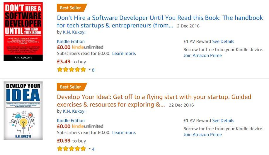 Amazon KDP Best Seller Ranking