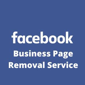 Facebook Page Remove Service